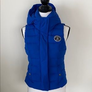 Puffy Vest Electric Blue